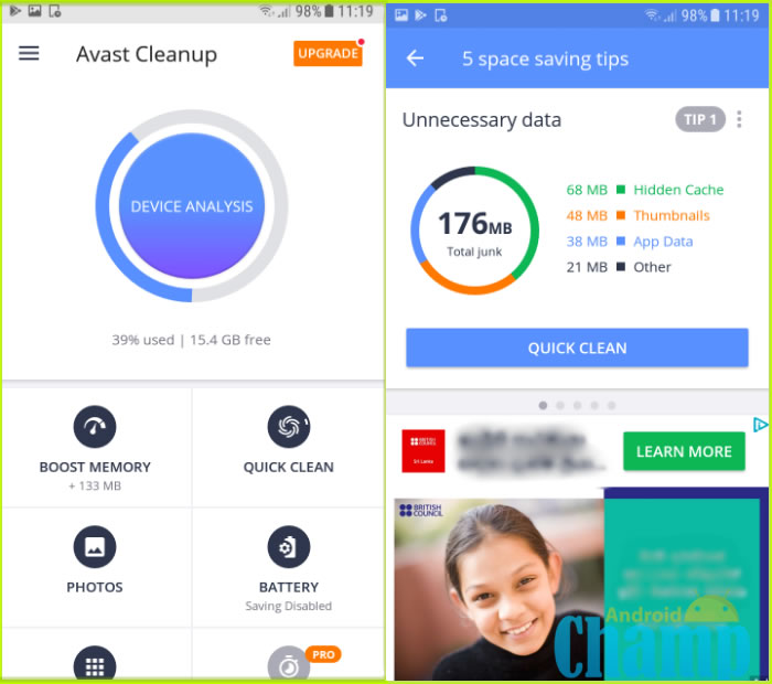 Avast Cleanup Pro apk download